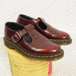 Dr. Marten Vegan Leather Polley Mary Jane shoe